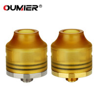 Original OUMIER WASP NANO RDA Tank 22mm Diameter E Cigarette WASP Nano Rebuildable Atomizer Bottom Filling