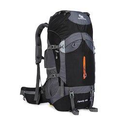 60L o dużej pojemności Camping plecaki górskie lekka torba sportowa na zewnątrz wodoodporny plecak mężczyzna plecak podróżny wsparcie stopu