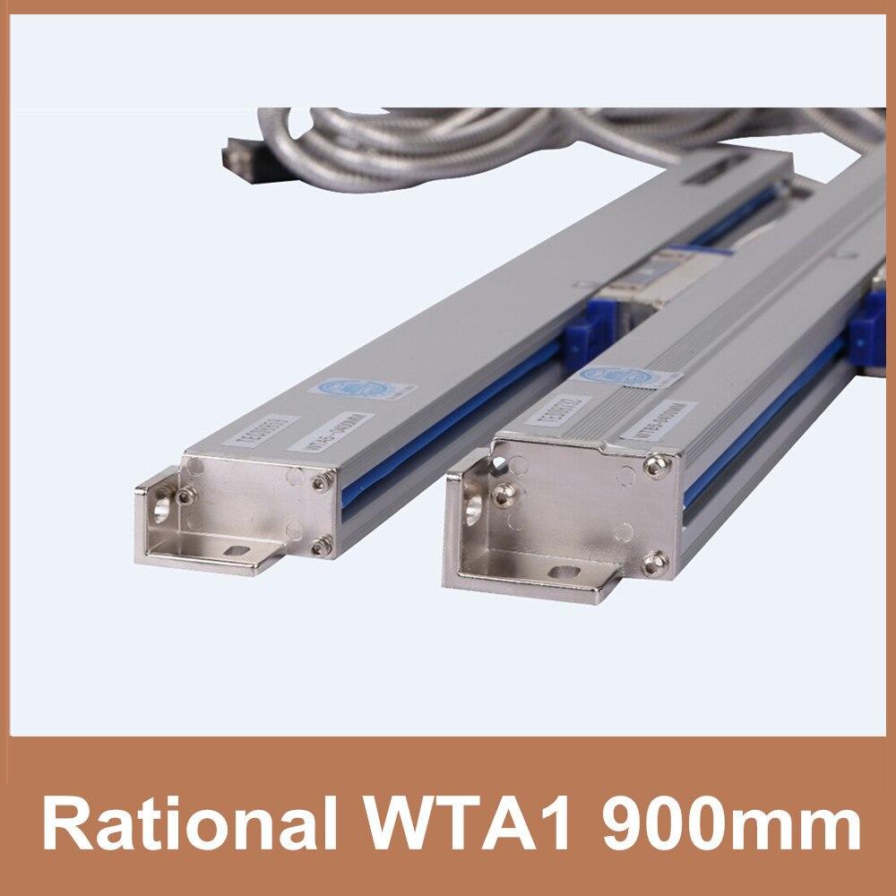 Бесплатная доставка рациональный wta1 кодер метр 0.001 мм/1um TTL 900 мм датчика для CNC линейной правителя бурильщика