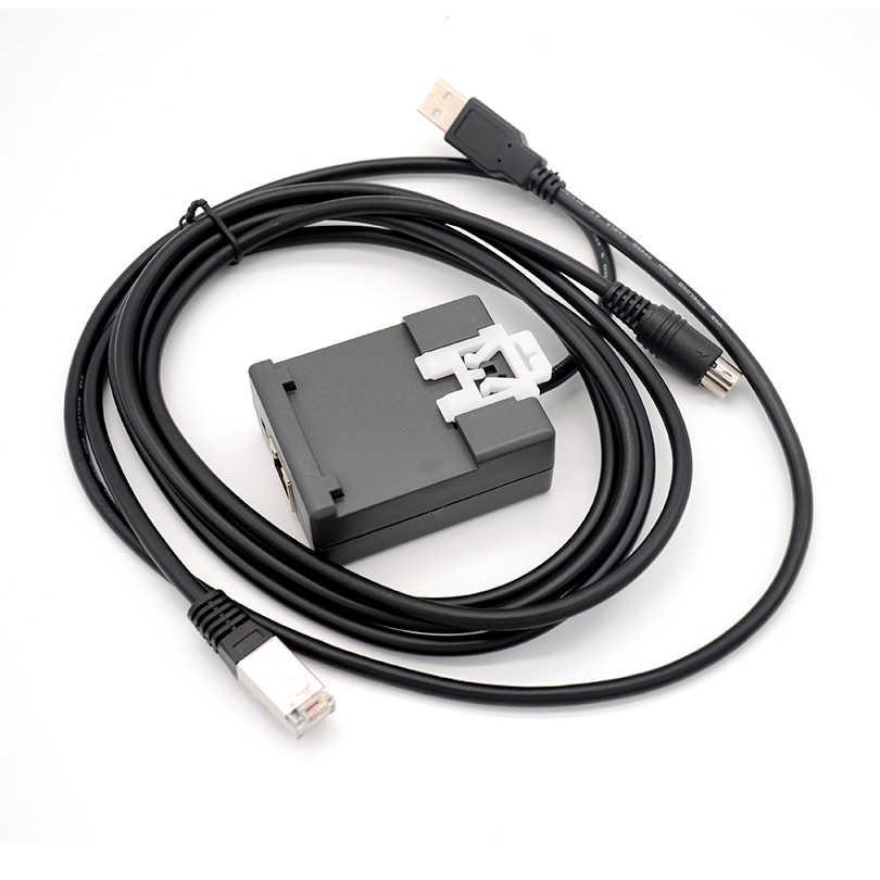 FOURSTAR interfejs USB Schneider PLC wielofunkcyjny kabel do programowania USB/RS485 interfejs z master/slave przełącznik wyboru