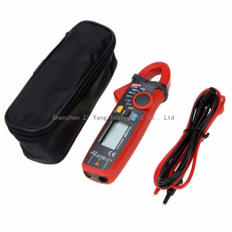 UNI-T UT210E Digital Multimeter True RMS AC/DC Current Mini Clamp Meters Capacitance Tester Digital Earth Ground Multimeter