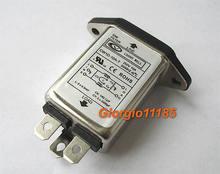 1 pc di Uso Generale di Alimentazione CA EMI Noise Filter 10 Amp 110 V 115 V 220 V 240 V 250 V
