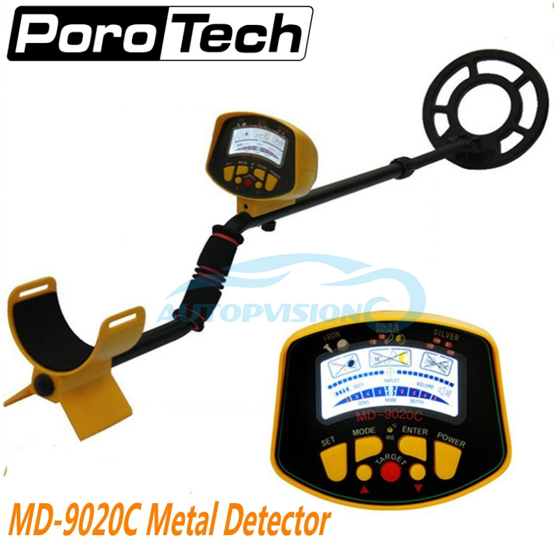 Underground Metal Detectors MD-9020C High Sensitivity LCD Display Backlight MD9020C Metal Detector Gold Digger Coin Hunter