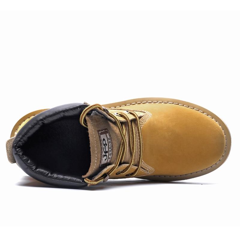 D'hiver Confort Neige En Daim Alcubieree Homme Hommes Black Cuir De Chaussure Bottine Bottes Vache Travail Lacets brown Chaussures À Marque Décontracté shCQrBoxtd