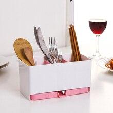 Multifunction chopsticks cage spoon storage box fast draining water cutlery sponge holder dish rack,Kitchen accessories.