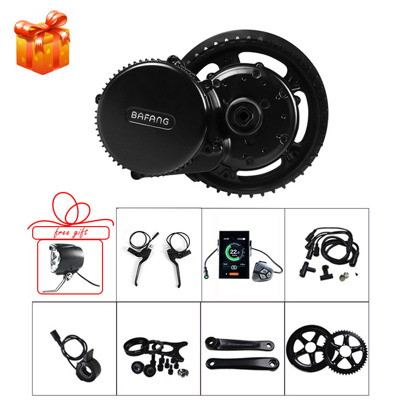 Bafang 48V 750W Mid Motor E bike Conversion Kits BBS02B Electric Bicycle 44T 46T 48T 52T