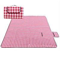 Camping Mat Waterproof Outdoor Picnic Beach Camping Mat Camping Tarpaulin Baby Play Mat Plaid Blanket 3 Colors