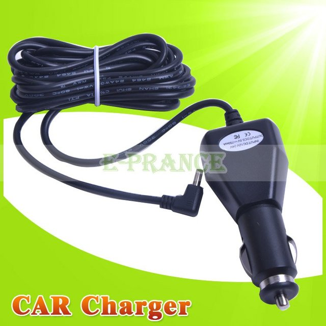 15pcs/ lot  long DC Plug Car Charger Travel Charger for DVR198 DVR189 DVR127 DVR227 DVR027 Car DVR Charger #CH198C