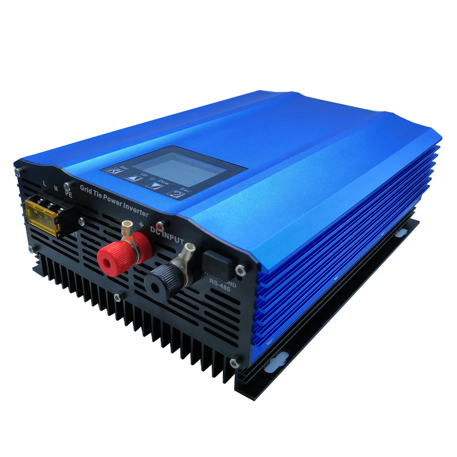 1200 w onduleur sur réseau Couleur affichage DC à AC sortie puissance peut être réglée à la maison à onde sinusoïdale pure système solaire Haute efficacité