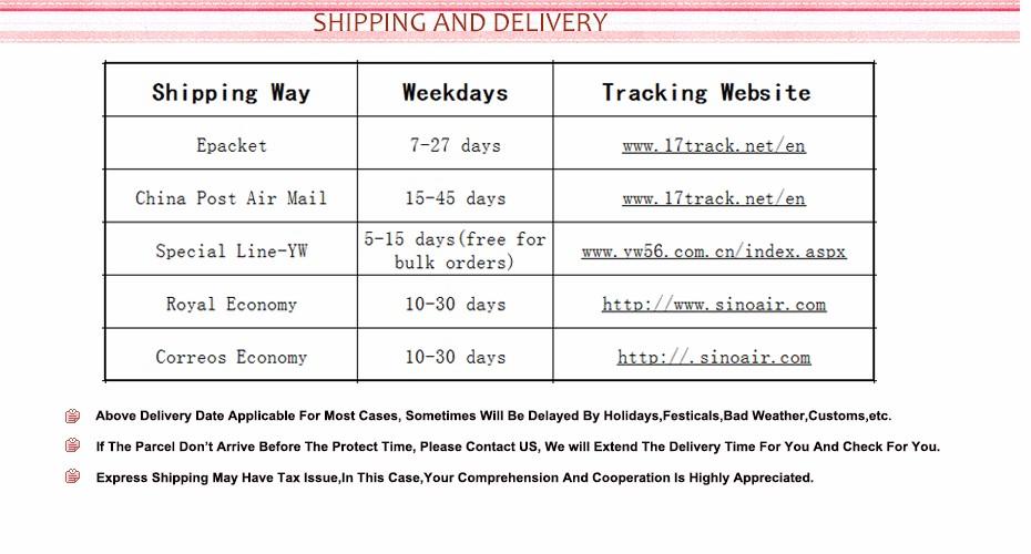 shipping de