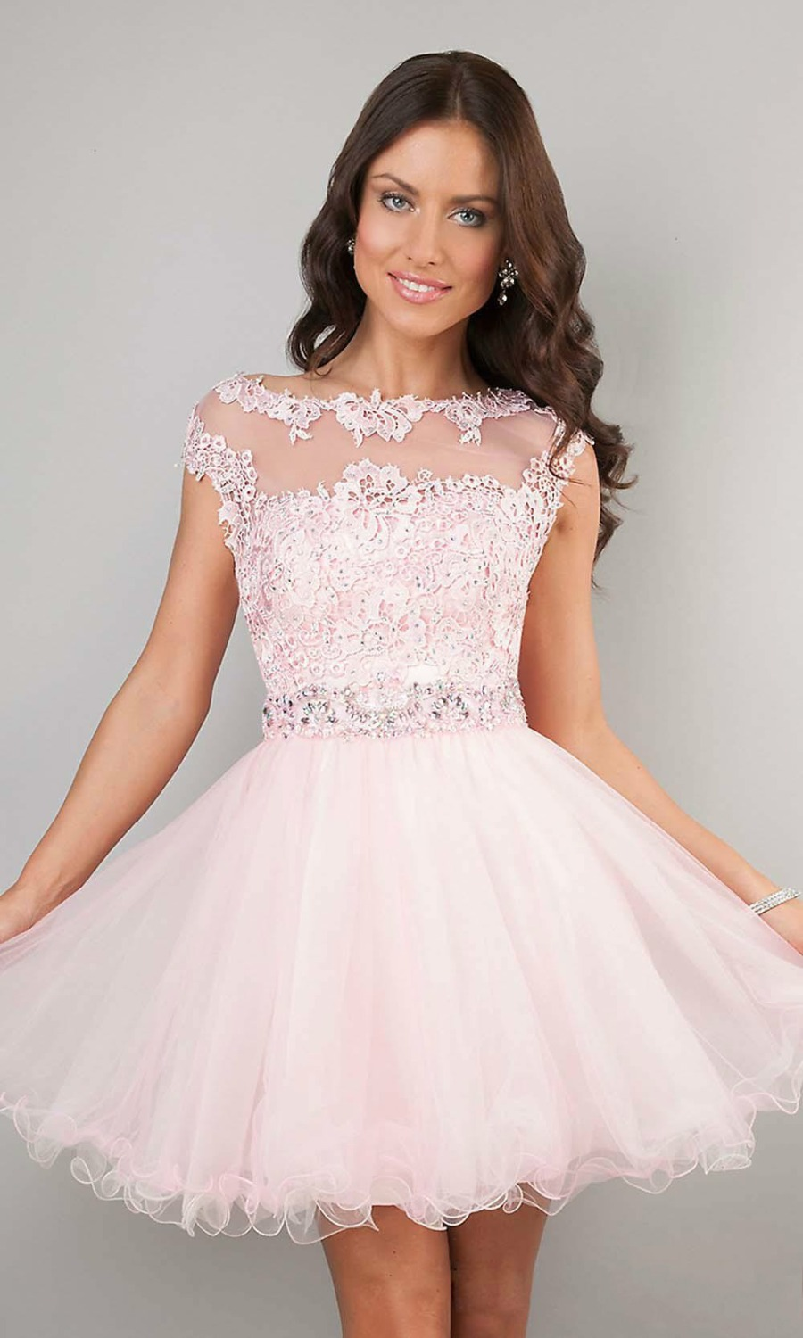 Popular Pink Semi Formal Dresses-Buy Cheap Pink Semi Formal ...