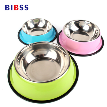 BIBSS Dog Bowl Travel Pet Dry Food Cat Bowls for Dogs Pink Dog Bowls Outdoor Drinking Water Fountain Pet Dog Dish Feeder Goods