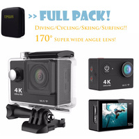 Upslon Original EKEN H9 H9R Remote Action Camera WiFi Ultra HD 1080P 4K 30fps 170D Helmet