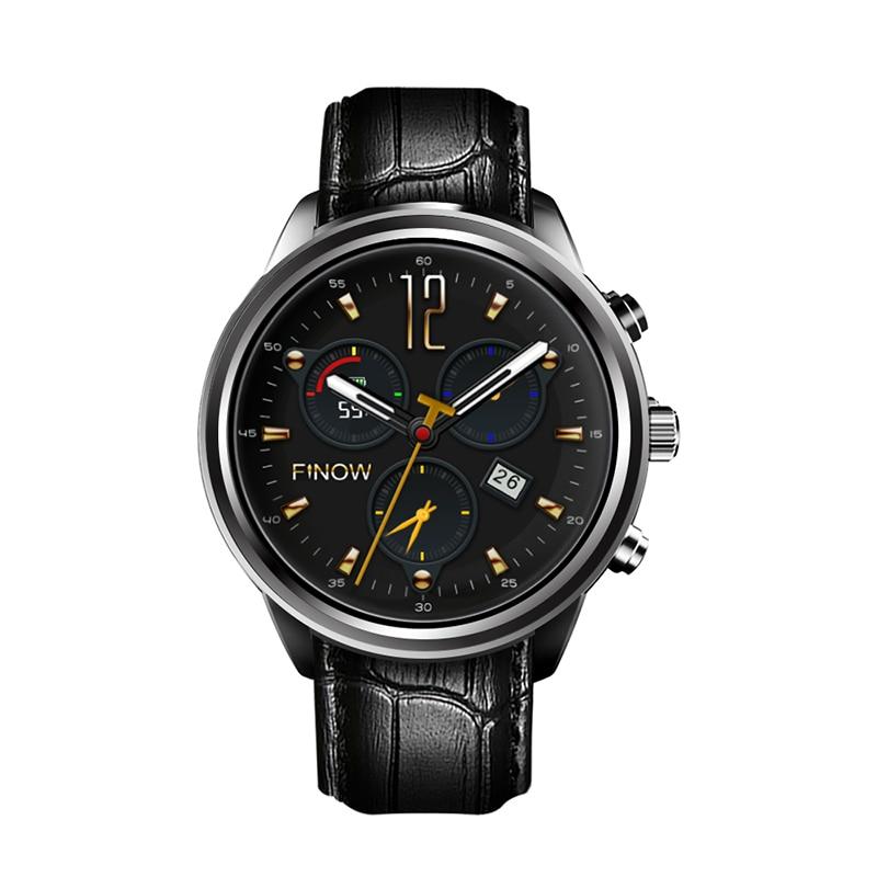 imágenes para Mejor Calidad Finow X5 Aire/X5 plus 3G Bluetooth Del Teléfono Smartwatch para Android/IOS wifi GPS Ram2GB/Rom16GB PK LES1 Smartwatches