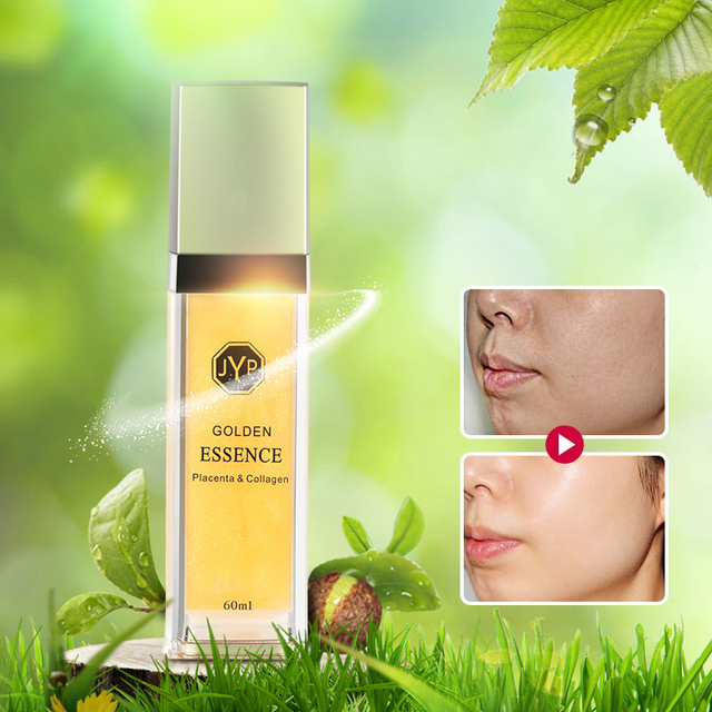 100%NewZealand Sheep Placenta Collagen Gold Essence Serum Anti aging Anti wrinkle Face Cream Vitamin Face Essence Moisturizer
