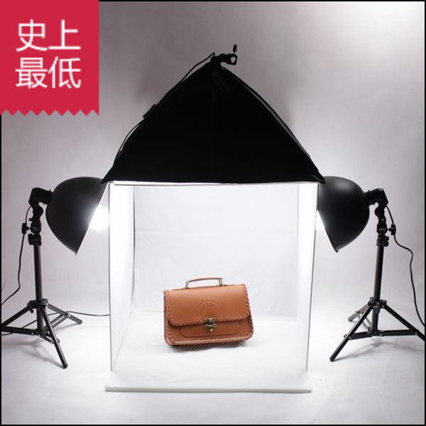 Adearstudio 60cm Studio Box Photography Light Softbox 4 Background