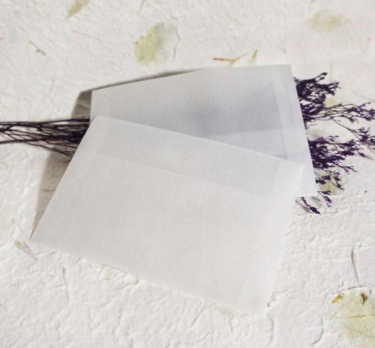 Office & School Supplies 10 Teile/los Bznvn Heißer Verkauf Transluzenten Leere Schwefelsäure Papierumschläge Für Postkarte Kleine Geschenke Karte Verpackung Schreibwaren Entlastung Von Hitze Und Sonnenstich