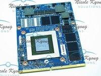 100% работа GTX 870 м GTX870M 3g DDR5 видео VGA карты Графика карты для Dell M18X M17x m6700 M6800 ноутбука