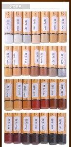Image 4 - 14 pz/set mobili vernice riparazione riparazione del pavimento pavimento pastello a cera materiali di riparazione penna vernice zero cerotto legno composito