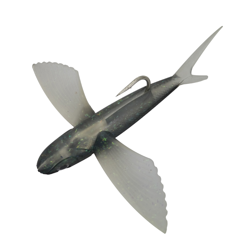 2pcs / pack umjetne leteće ribe mamac 125g 20cm silikagel tuna - Ribarstvo - Foto 4