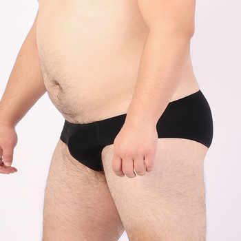 5 PCS/LOT New Arrivals Male Seamless Underwear Men\'s Sexy Transparent Briefs Ice Materials Underpants Shorts M L XL XXL XXXL