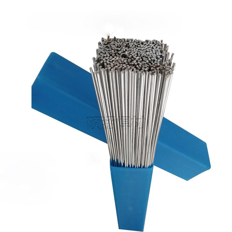 20 piezas 2mm * 50 cm baja temperatura tubular de aluminio Alambre de soldadura sin necesidad de aluminio en polvo en lugar de WE53 cobre y aluminio