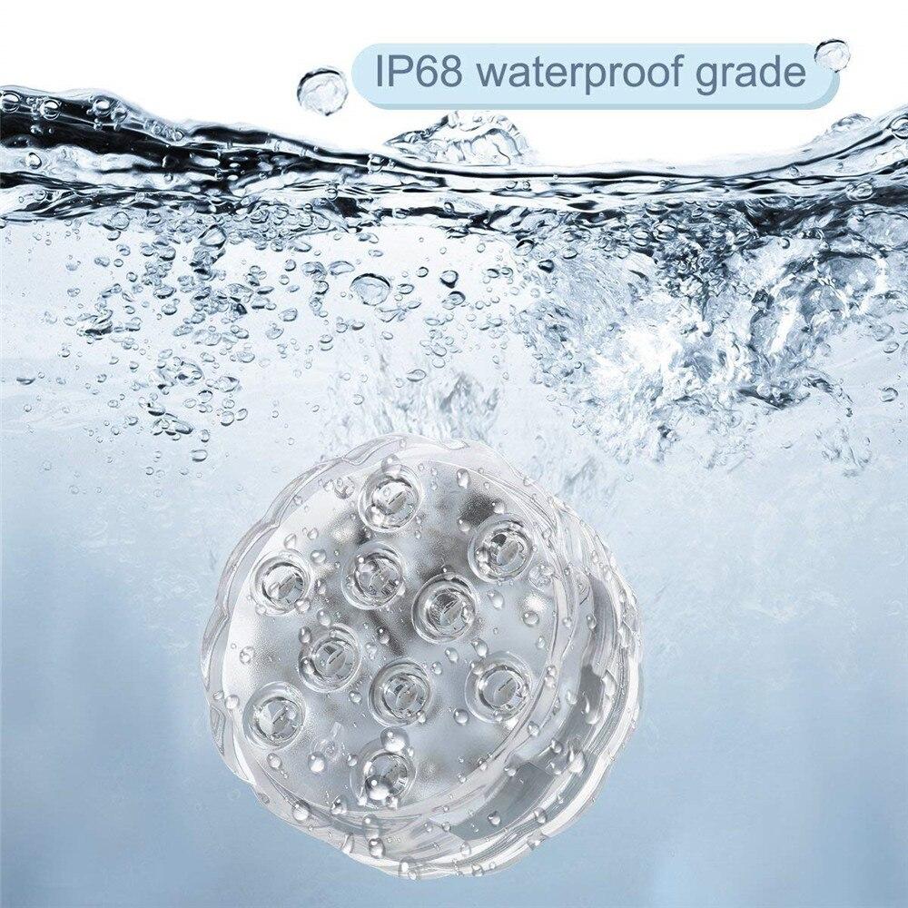 dip68 água multi cor operado a pilhas