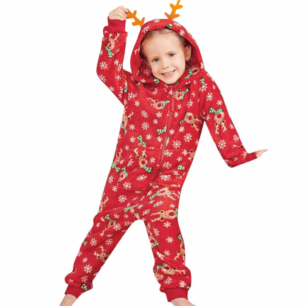eca5803fb Detail Feedback Questions about MUQGEW Kid Baby Boy Girl Hood Romper  Jumpsuit Family Pajamas Sleepwear Christmas Outfit Baby Clothes on  Aliexpress.com ...