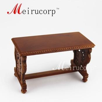 цена на Fine 1/12 scale dollhouse miniature furniture Luxuriant Hand carved desk