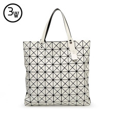Hohe Qualität Mode BAOBAO Tasche Geometrie Kupplungen Pailletten Laser Einfachen Klapp Taschen Designer Handtaschen Frauen Berühmte Marken bolsos