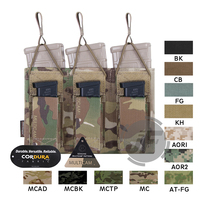 Emerson Tactical Triple Open Top 5.56 & Pistol EmersonGear MOLLE / PALS Magazine Mag Pouch Holster High Capacity Mag Carrier