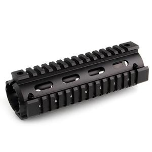 """Magorui Two-piece Design 4""""/7""""/9"""" Carbine Length Free Float Drop-in Quad Rail Handguard For AR15 Rifle(China)"""