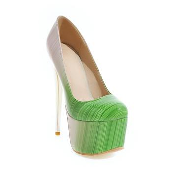 2017 duży rozmiar sprzedaż 30-48 nowych moda Sexy okrągły palec u nogi kobiet Super platformy wysokie obcasy damskie ślubne szpilki y-19 tanie i dobre opinie WOMEN Pompy Party WMH-Y-19 Dobrze pasuje do rozmiaru wybierz swój normalny rozmiar 3-5 cm GLADIATORKI Wsuwane Super Wysokiej (8cm-up)
