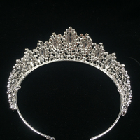 Hadiyana new aaa rhinestone crowns