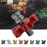 M8 * 1,25 Универсальный Мотоцикл с ЧПУ Алюминий сцепления кабель провода регулятор для Honda Hornet 600 700 900 NC700X ABS VTR 1000 SP-1 SP-2