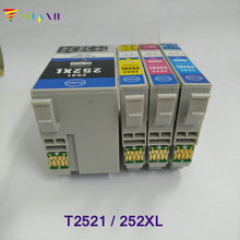 цена на vilaxh T2521 For Epson Ink Cartridge For epson WorkForce WF-3620 WF-3640 WF-7110 WF-7610 WF-7620 wf 3620 / 3640 / 7610