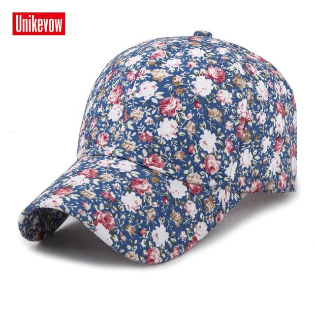 Samll Floral Baseball Cap...