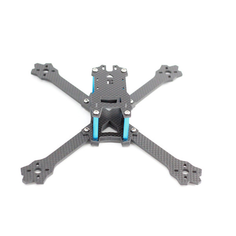 A-Max Standard 3 220mm Stretch-X 5 Inch Carbon Fiber RC Drone FPV Racing Frame Kit 3.5mm Arm Support Runcam Swift Motor 2205 VTX generic v max max z swift 6020 canopy red