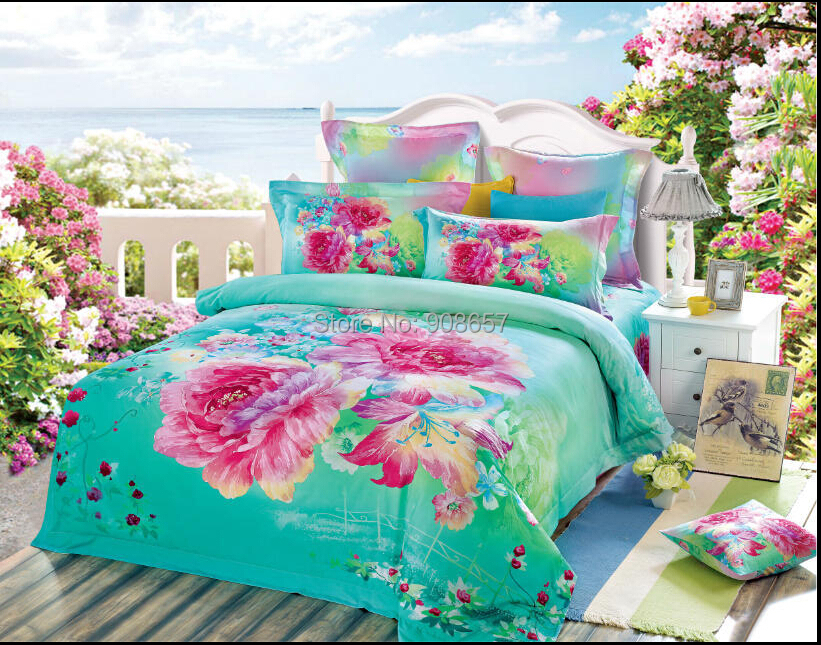 Popular Turquoise Pink Bedding Buy Cheap Turquoise Pink