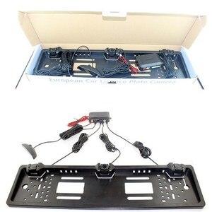 Image 4 - Trasporto Funching Auto Radar di Retromarcia Con 3 Sensori di LED di Visione Notturna Che Inverte Sensore di Parcheggio Impermeabile Rilevatore di Monitoraggio