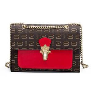 FEEDO Chains Women Shoulder Bags Luxury Handbags Purses d56f91d4fb732
