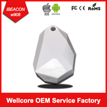 Wellcore Cheap Price Mini  ibeacon module Bluetooth low Energy Tag