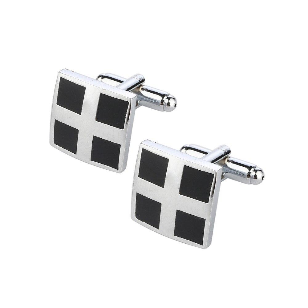 все цены на Luxury Laser pattern gemelos shirt cufflinks for mens silver Plated cuff buttons cuff links High Quality abotoaduras Jewelry онлайн