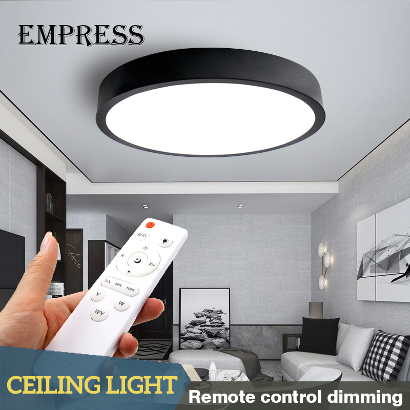 Led Ceiling Lights Modern Lamps With Remote Control Living Room Kitchen Round Ceiling Light Fixtures Surface Mount Room LampLed Ceiling Lights Modern Lamps With Remote Control Living Room Kitchen Round Ceiling Light Fixtures Surface Mount Room Lamp