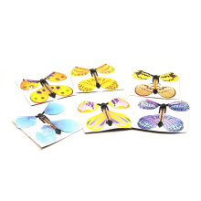 12pcs magic flying butterfly change from empty hands freedom butterfly close up magic tricks magia kids toy funny gadgets 82088 цена