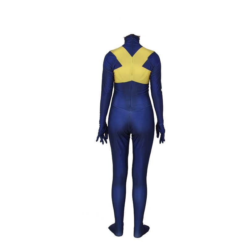 New X-Men: scuro Phoenix Cosplay Costumi Jean Grey Phoenix Sophie Turner Per Bambini di Età Zentai Tute e Tute da Palestra Body e Tutine Vestito di Halloween