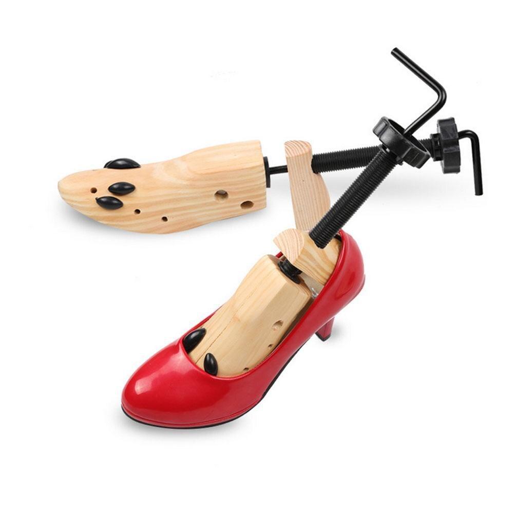 1 PC Madeira Expandir Suporte Apoio Sapatos Sapato Sapato Dura Dura útil para Senhora Sapatos de Salto Alto Da Árvore de Suporte Shaper Maca De Madeira #2