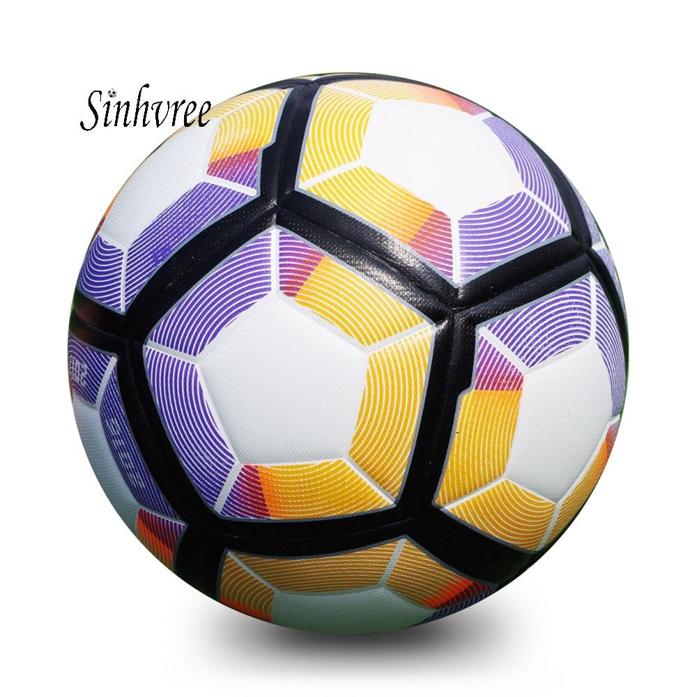 2018 Premier PU Soccer Ball Official Size 4 Football Goal ...