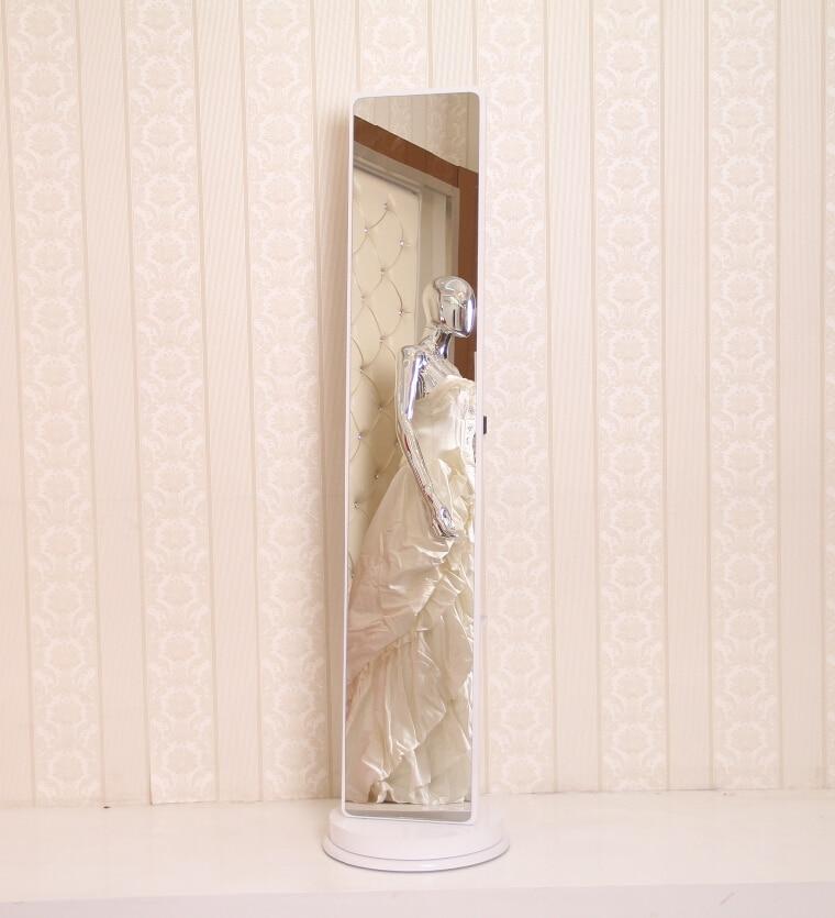 NEW PRODUCT! Full length mirror Rectangle wood landing pier acrylic plastic mirror color dresser body mirror Miniature Furniture