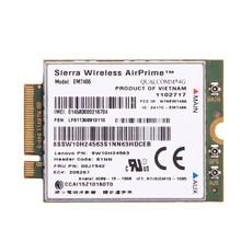 Para Lenovo X260 T460 P50 P70 L560 X1 de Carbono Sierra Airprime EM7455 GOBI6000 QUALCOMM 4G LTE Módulo WWAN IBM FRU: 00JT542